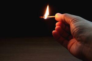 Zes jaar voor platbranden concurrerende snackbar