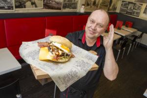 Mijn Snack: Buffelburger De Passage