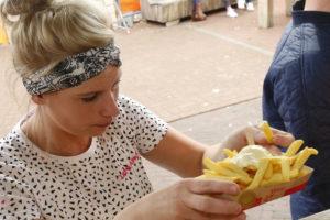 Friet met mayonaise nummer 1 op festivals, maar concurrentie stijgt