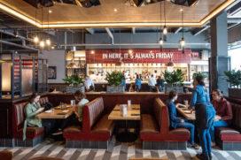 TGI Fridays: American style dining in Utrecht