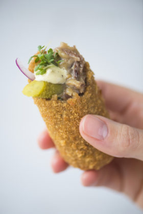 Slow Cooked Beef Croquette
