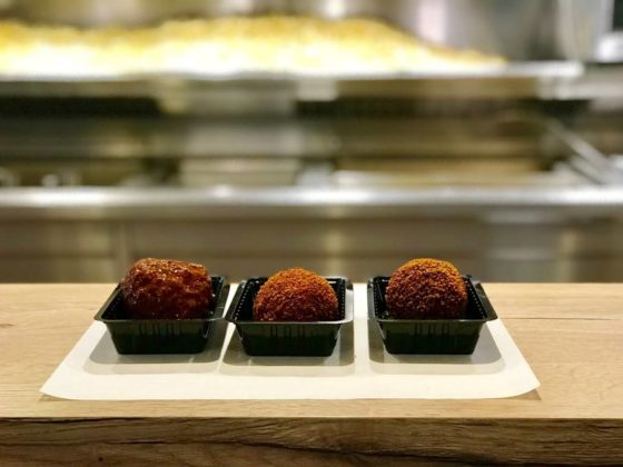 De drie gouden ballen van Cafetaria XL. Foto: Nederlands Frituurcentrum