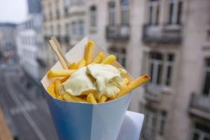 Belgische friet gaat de strijd aan met french fries
