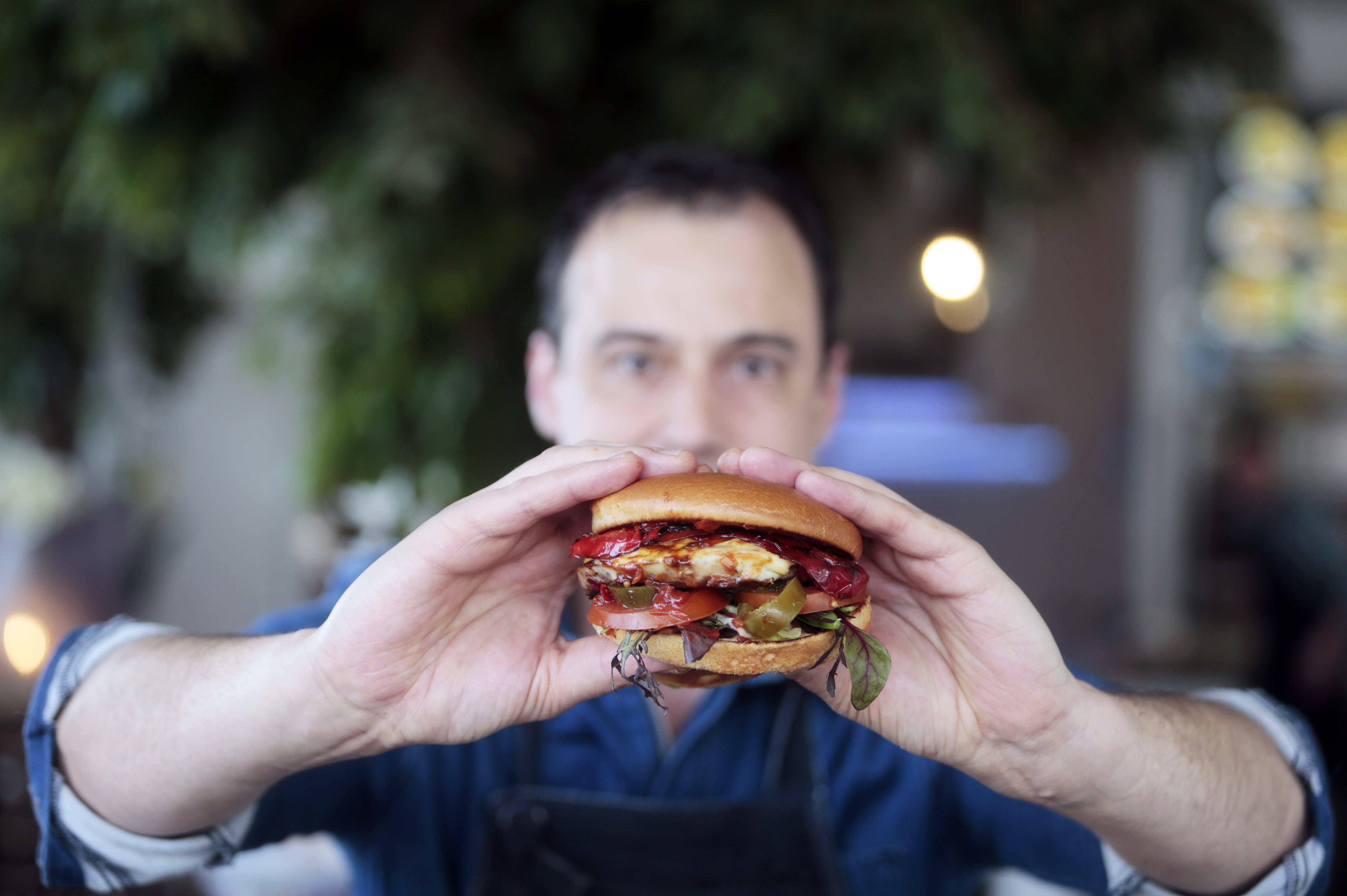 De perfecte hamburger volgens Vincent Oud