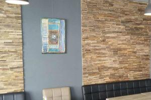 Cafetaria 't Huus 2.0 trekt de aandacht met kunstwerken