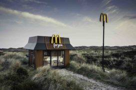 Nieuwe McDonald's heeft plek voor vijf personen