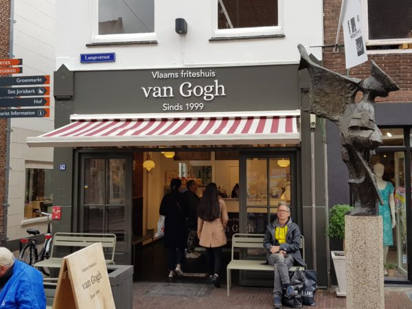 Vlaams friteshuis van Gogh