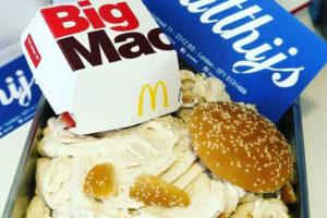 IJssalon baart opzien met Big Mac-ijs