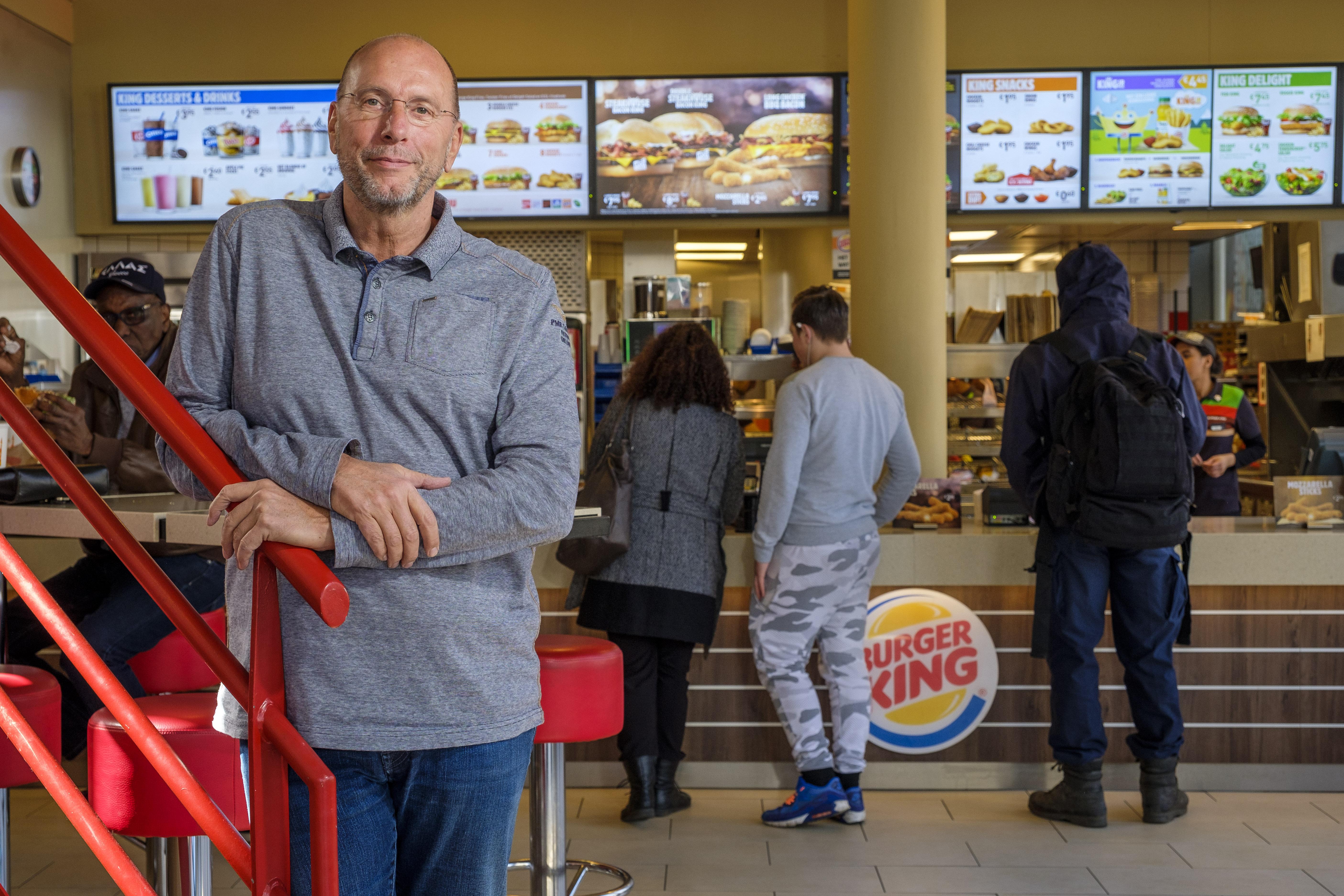 'Burger King ver achtergebleven'