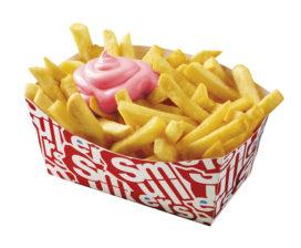 Smullers en Oliehoorn introduceren roze frietsaus