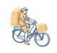 Dit is waarom e-bikes voor bezorgen populairder worden