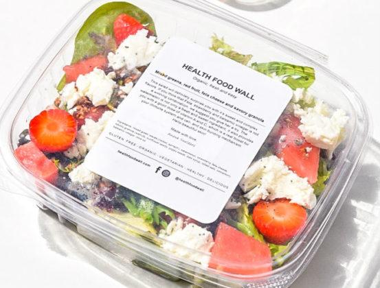 Health Food Wall opent gezonde automaat op Schiphol Plaza