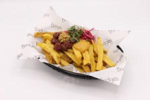 Frietboutique komt met friet ingelegd in zuur