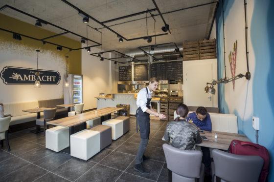 Cafetaria Top 100 2018 nr. 92: Cafetaria  Het Ambacht, Wageningen