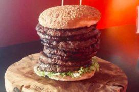 Barnevelds restaurant serveert burgers van 2,7 kilo