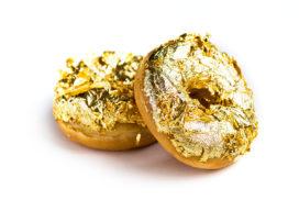 Gouden donuts gelanceerd door Dunkin' Donuts
