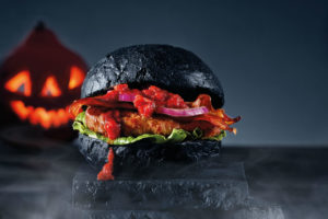 Kwalitaria introduceert een halloweenburger