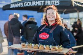 Bram's Gourmet Frites stapelt zeecontainers tussen KFC en McDonald's