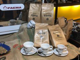 AnyTyme lanceert eigen koffiemelange en geeft baristatraining