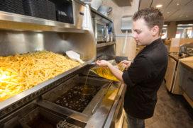 87 procent van frituurvet in de horeca is vloeibaar