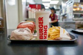 Burger King verkoopt meer snacks en zet in op plantaardig