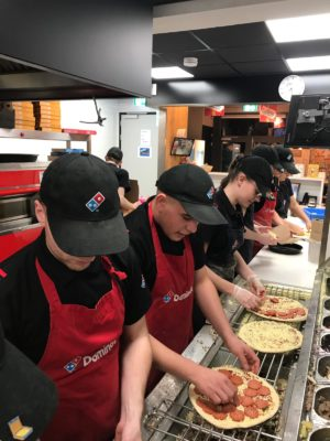 Domino's Pizza 1 januari 2019