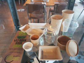 Eetwinkel Kwebbles doet plastic verpakkingen in de ban