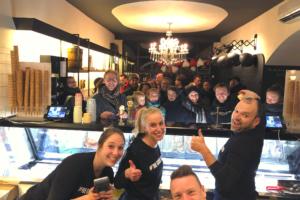 IJssalon Roberto Gelato opent seizoen met bekende Utrechters