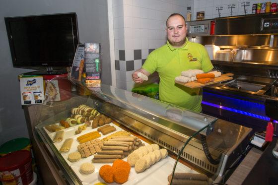 Starter: Niels Faessen van Happy Frites in Welten