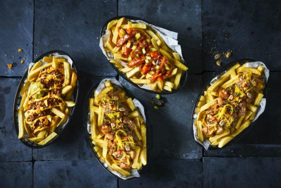 Foodmaster komt met 3 nieuwe frietspecials