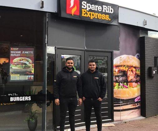 Tweede vestiging voor Spare Rib Express franchisenemers Vlaardingen