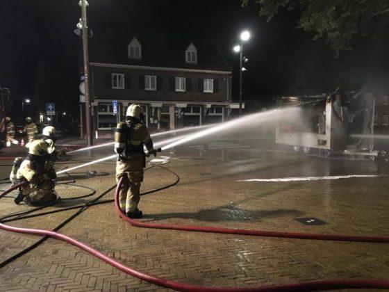 Meer dan duizend reacties na brand Friet van Ome Jan