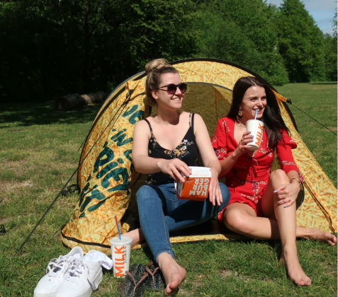 Foodmaster maakt limited edition friettent