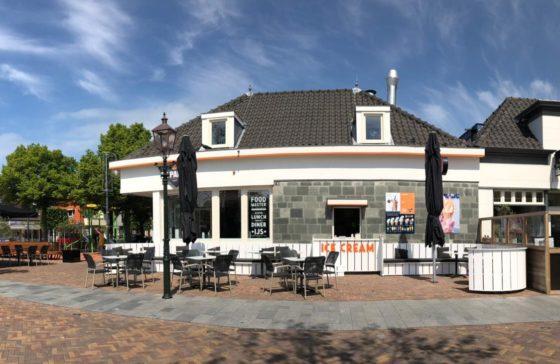 Foodmaster De Parel presenteert nieuw terras met echte blikvanger