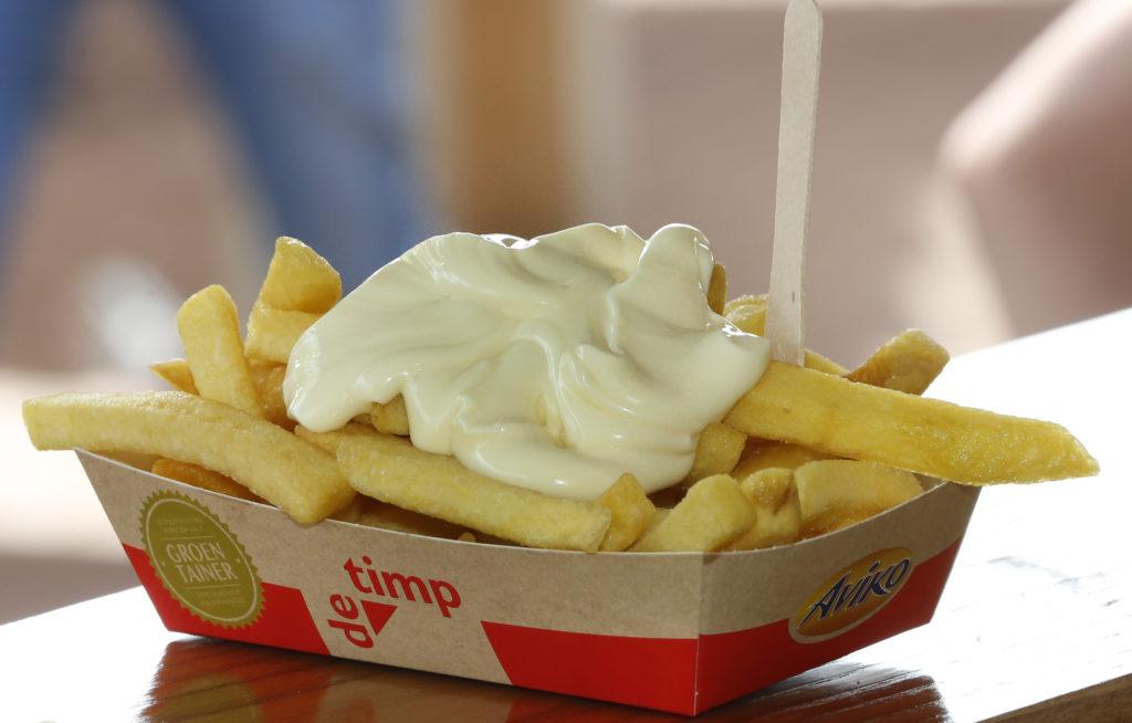 friet saus mayonaise fritessaus
