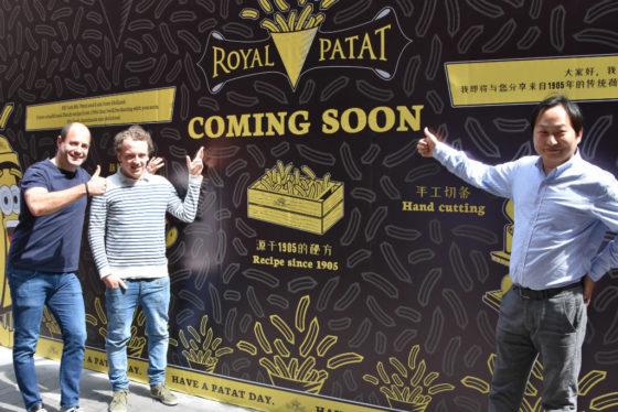 Amsterdamse ondernemers openen luxe frietzaak in Shanghai