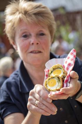 Cultureel erfgoed: echte Groninger eierballen van Pamela ten Hoope van De Paardeschuur. Foto: Anne van der Woude