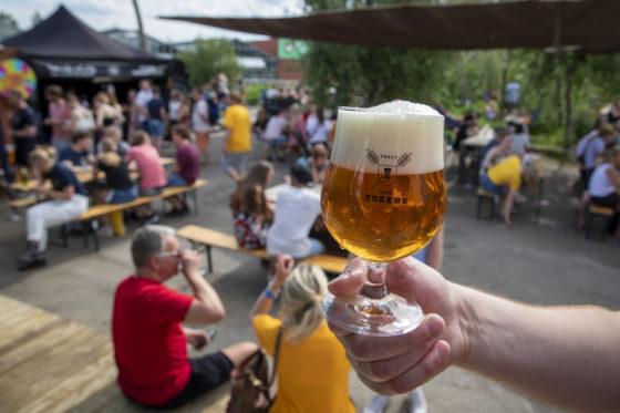 Bier van Eggens (Groninger brouwerij sinds 2017) Foto: Anne van der Woude