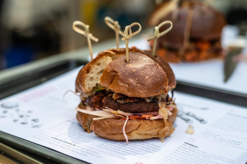 vegan burger contest