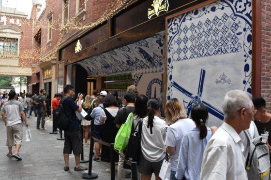 Royal Patat in Shanghai draait inmiddels op volle toeren