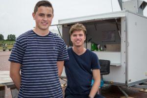 5 vragen aan: Noah en Julius, frietkraam 't Friet-Uurke