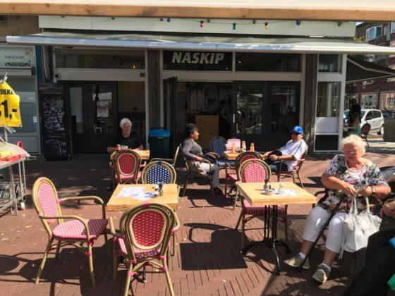 Naskip van start in Amsterdam-Oost