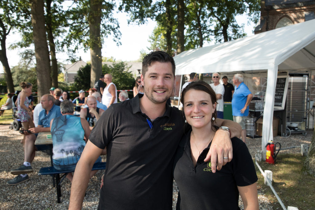 Cafetaria Coen Wielerronde Westbroek 2019