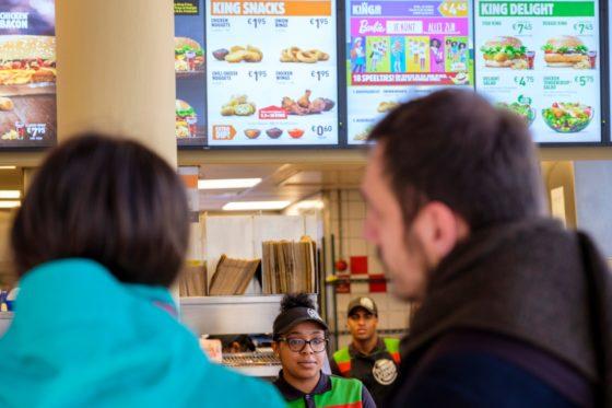 'Gemeenten hebben geen problemen met fastfood'
