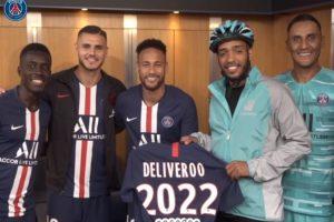 Deliveroo bezorgt tot aan het stoeltje in stadion van PSG