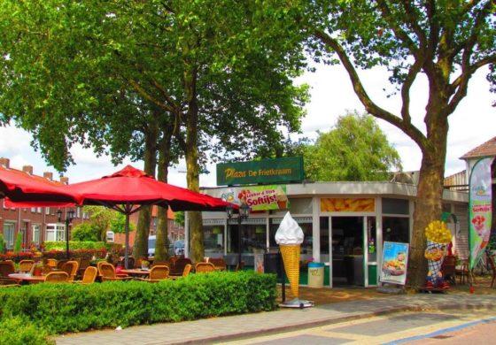 Ondernemers bouwen Plaza de Frietkraam om tot ijssalon en openen nieuwe cafetaria