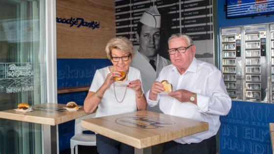 Mieke en Jan de Kort, de bedenkers van het Broodje Jantje. Foto: Peter Roek