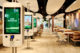 Foto 250ste mcdonalds restaurant geopend op eindhoven airport interieur 80x53