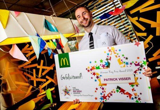 Twee Nederlandse McDonald's-managers beste van de wereld
