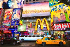 Amerikanen minder enthousiast over McDonald's dan rest van de wereld